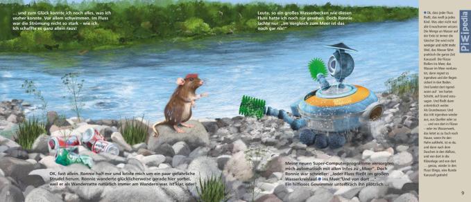 Kinderbuch PIWI über Müll im Meer